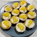 Tartaleta de queso y jamón